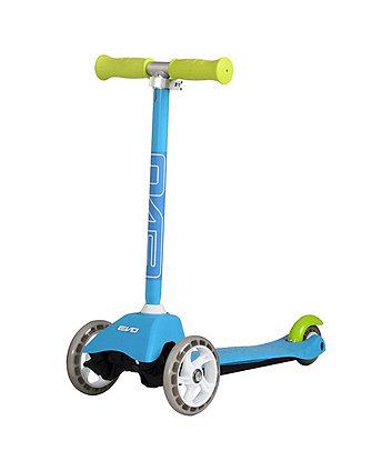 Evo 3 Wheeled Mini Cruiser Scooter Blue