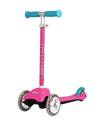 Evo 3 Wheeled Mini Cruiser Scooter Pink