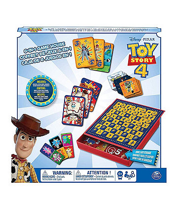 Disney Pixar Toy Story 4 6-In-1 Game House