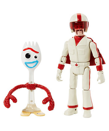 Disney Pixar Toy Story 4 17 cm Figure Forky and Duke Caboom