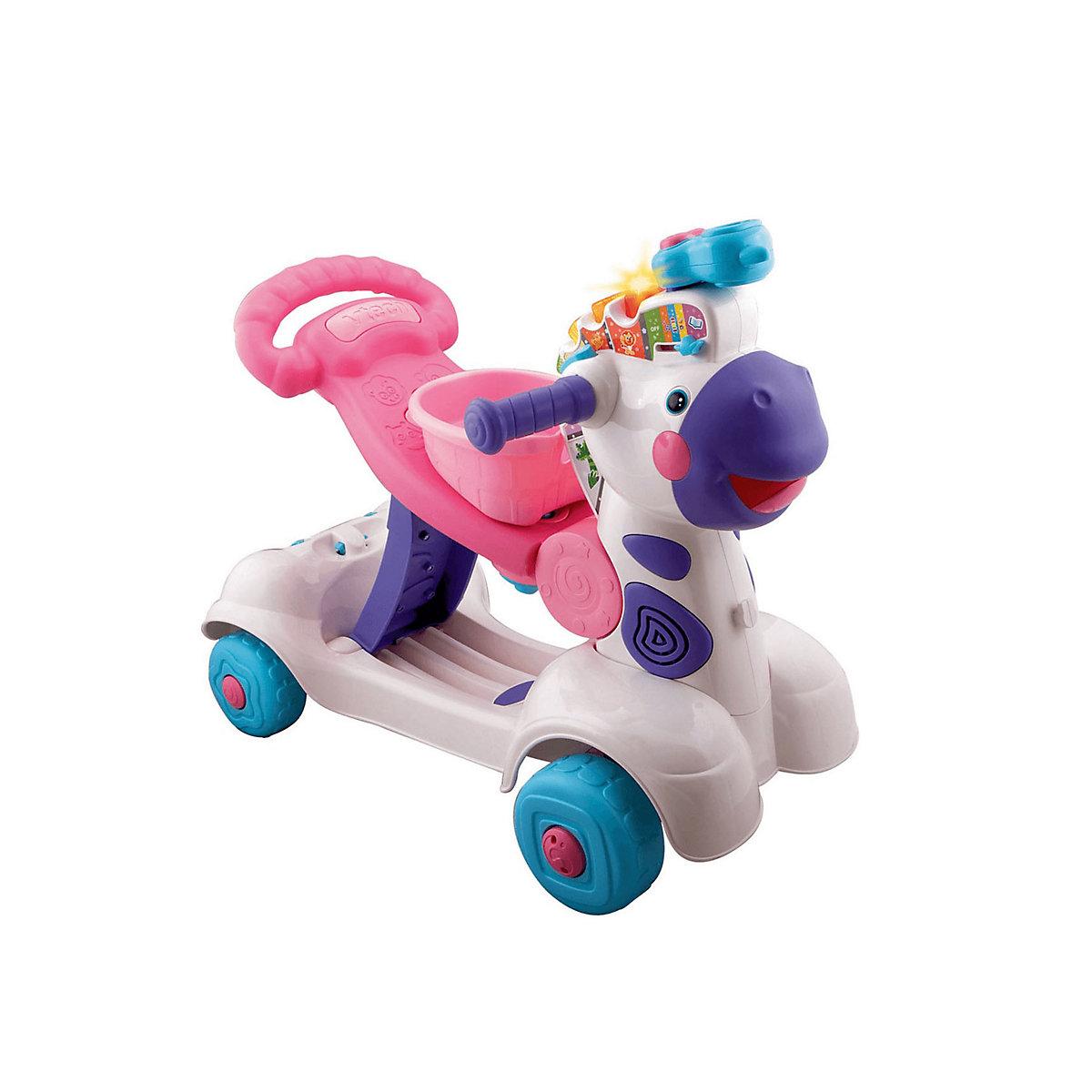 Vtech Zebra Scooter 3 In 1 Pink