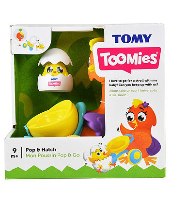 Tomy Toomies Pop and Hatch