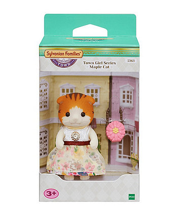 Sylvanian Families town girl series maple cat