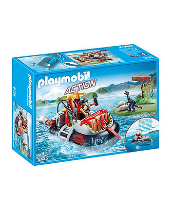 Playmobil City Action Dino Hovercraft with Underwater Motor 9435