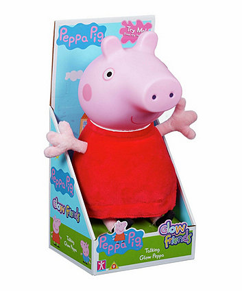 Talking Glow Peppa Pig