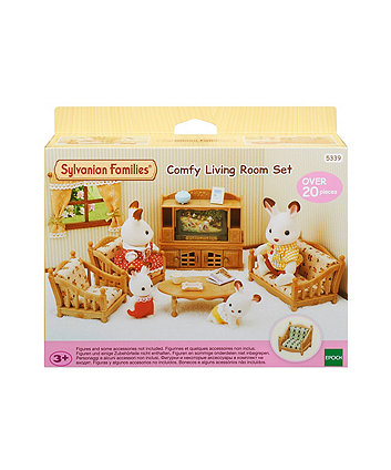 Sylvanian Families comfy living room set