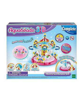 Aquabeads 3d merry-go-round