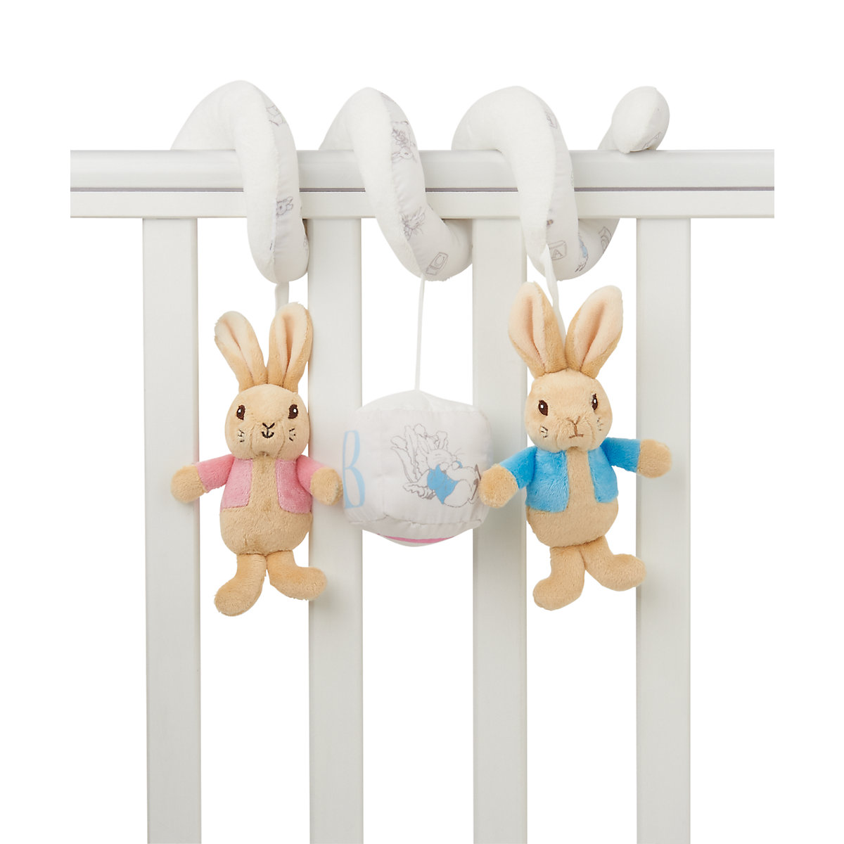 New ELC Beatrix Potter Peter Rabbit Cot Spiral Toy - Beatrix Potter Gifts
