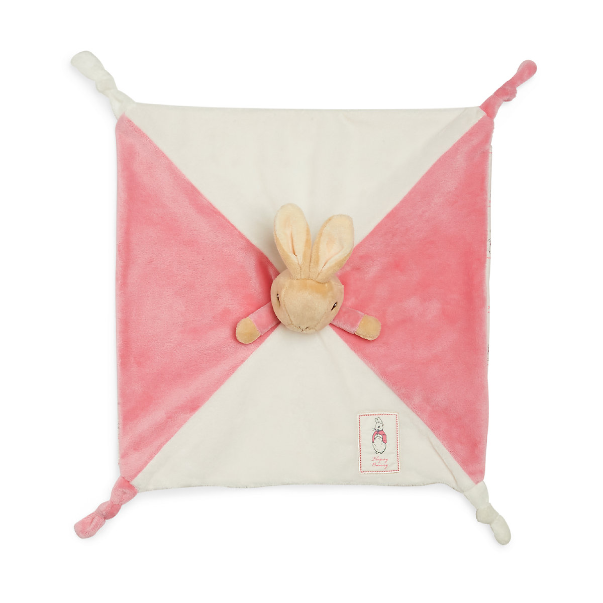 New ELC Boys and Girls Beatrix Potter Flopsy Bunny Blankie Toy From Birth - Beatrix Potter Gifts