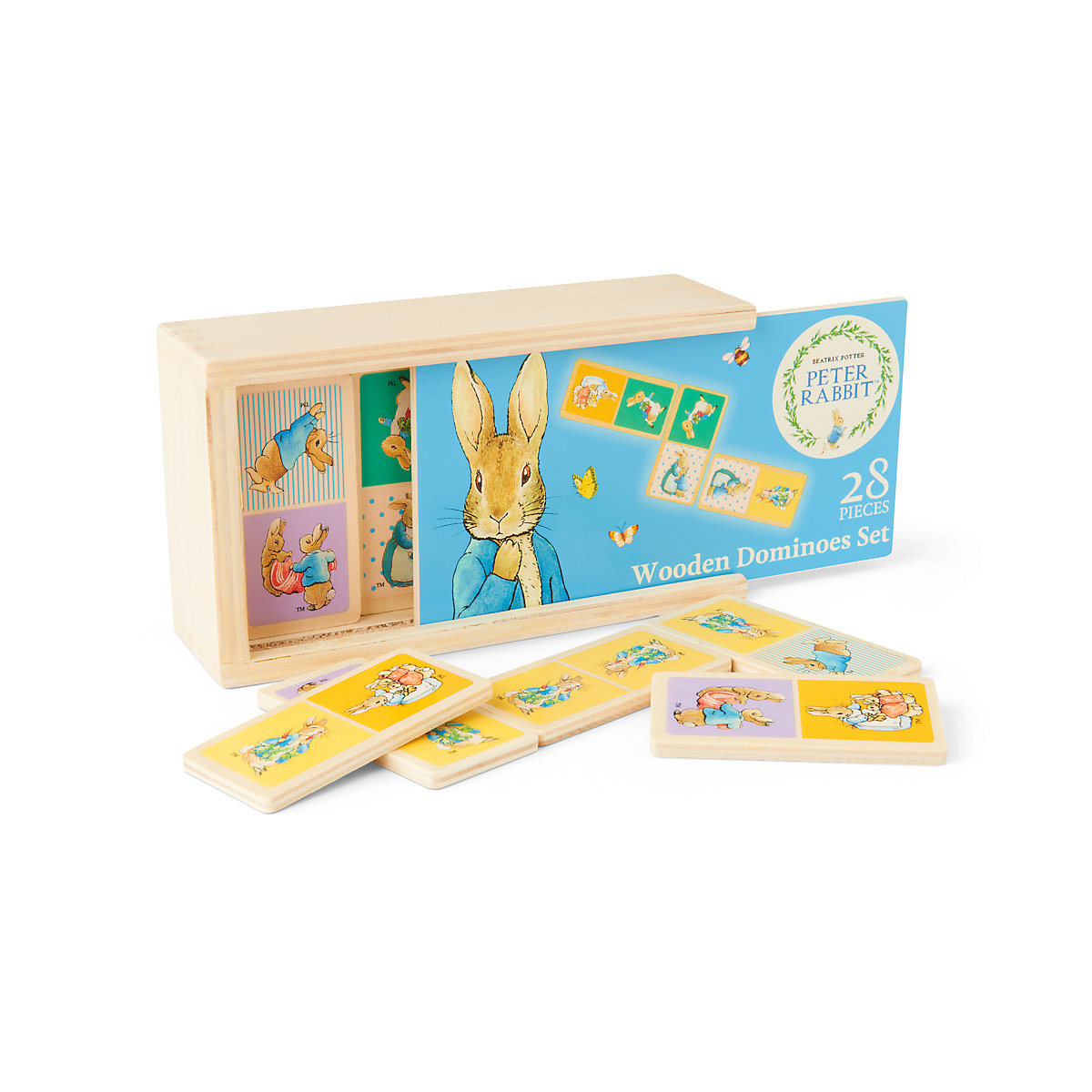 New ELC Boys and Girls Beatrix Potter Peter Rabbit Dominoes Toy From 18 months - Beatrix Potter Gifts