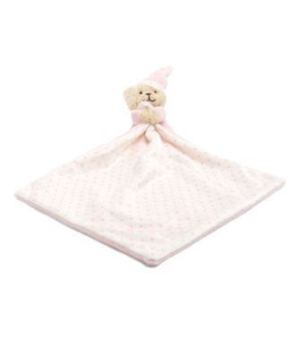 Mothercare Bedtime Bear Pink Blankie