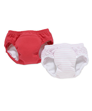 mothercare trainer pants 2 pack pink - medium