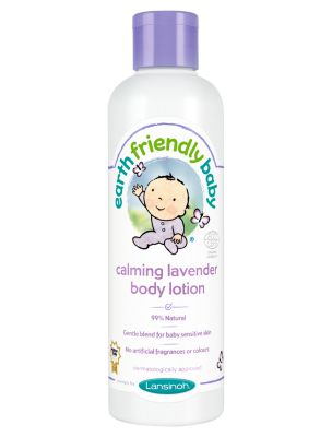 earth friendly baby calming lavender body lotion - 250ml