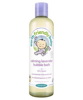 earth friendly baby calming lavender bubble bath - 300ml