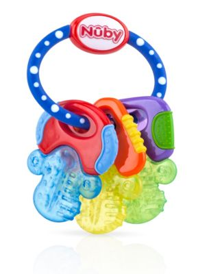 Nuby ice bite keys teether