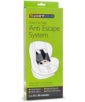 5 point plus anti escape system - 15 - 30 months