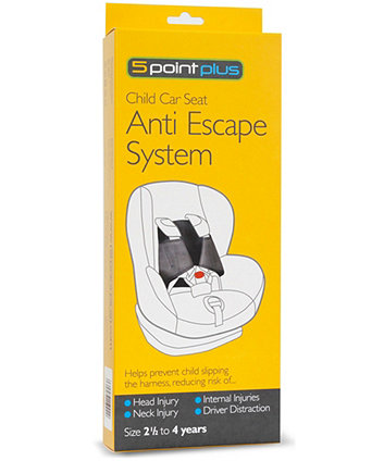 5 Point Plus Anti Escape System - 2.5 - 4 Years