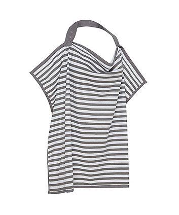 Mothercare Striped Breastfeeding Shawl