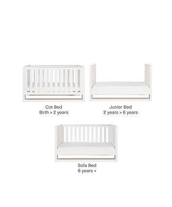 Tutti Bambini Rimini Cot Bed - Gloss White Finish