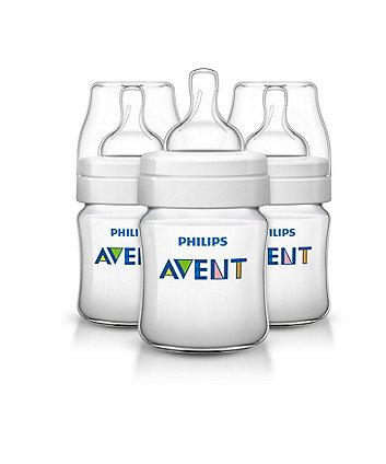 Philips Avent SCF560/37 classic+ feeding bottle - 125ml/4oz trio