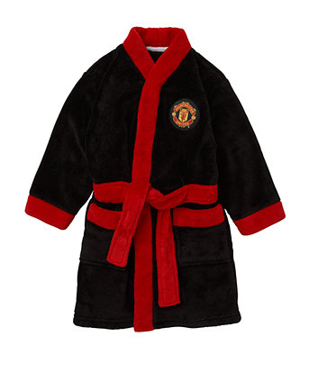 Manchester United Robe | dressing gowns | Mothercare