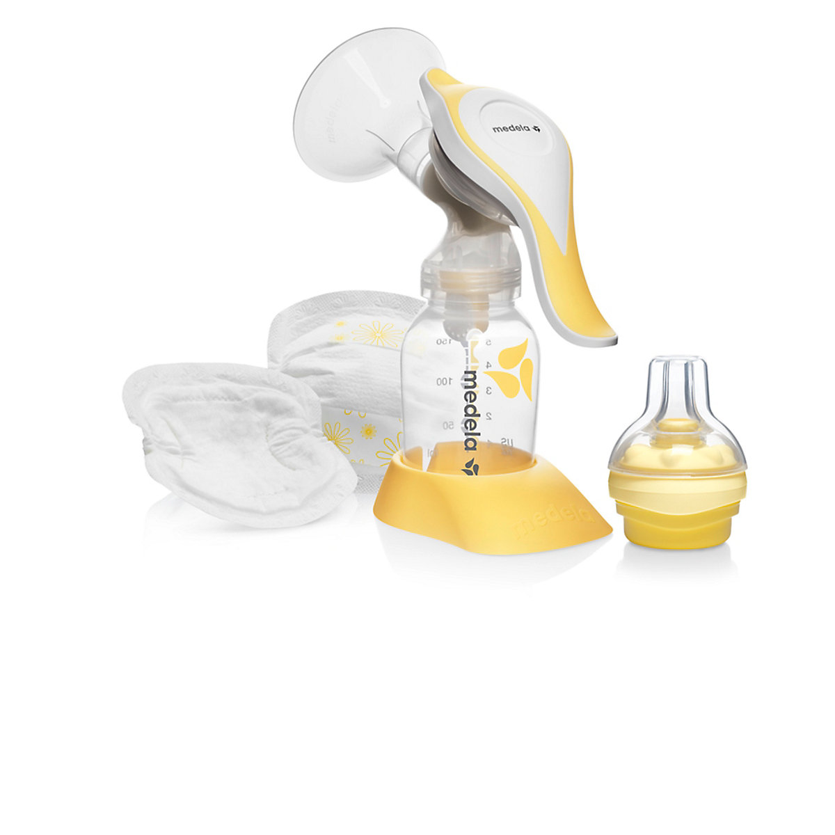 Medela harmony pump and feed breast pump