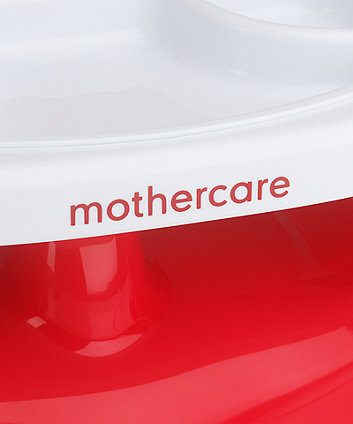 mothercare creative booster with tray - red