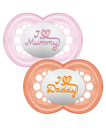 MAM style soothers 6m+