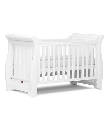 Boori Sleigh cot bed - white