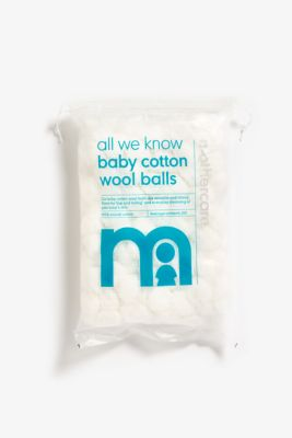 mothercare small cotton wool balls - 200 pack