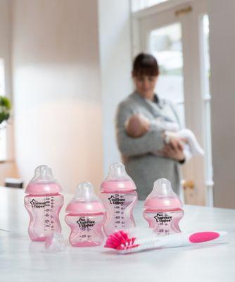 Tommee Tippee closer to nature newborn starter set - pink