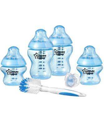 Tommee Tippee closer to nature newborn starter set - blue