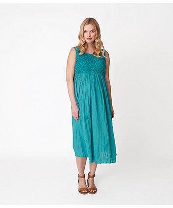 Green Crochet Maternity Dress Maternity Dresses Mothercare