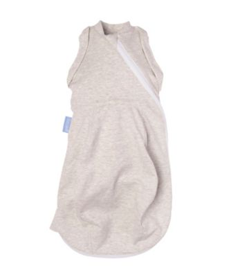 The Gro Company grey marl grosnug 2-in-1 swaddle and newborn grobag (0-3 months, light)