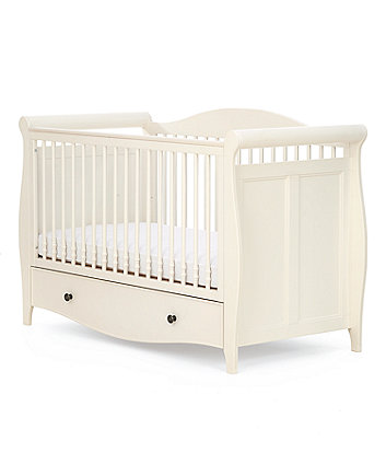 997a21cc477 mothercare bloomsbury cot bed - ivory