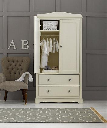 Mothercare Bloomsbury Wardrobe Ivory