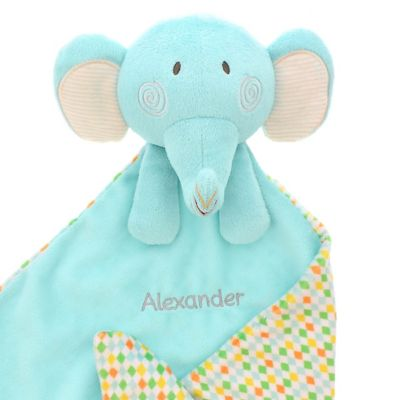 Mothercare Personalised Roll Up! Roll Up! Elephant Comforter Blanket