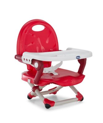 Chicco pocket snack booster - red *exclusive to mothercare*
