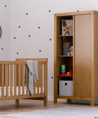 mothercare bayswater wardrobe - natural