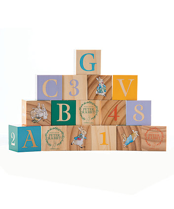 Beatrix Potter Peter Rabbit Wooden Picture Blocks