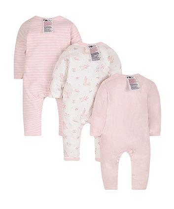 premature sleepsuits - 3 pack