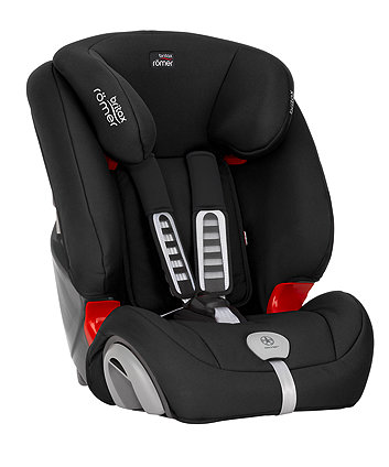 Britax Römer evolva 1-2-3 plus car seat - cosmos black