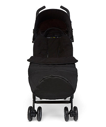 mothercare all-weather cosytoe - black