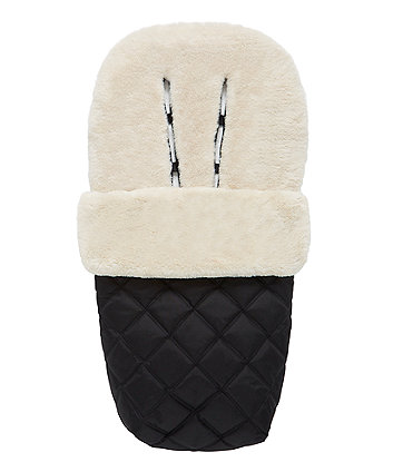 mothercare deluxe faux fur cosytoe