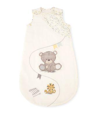 teddy's toy box snoozie sleep bag 0-6 months - 1 tog