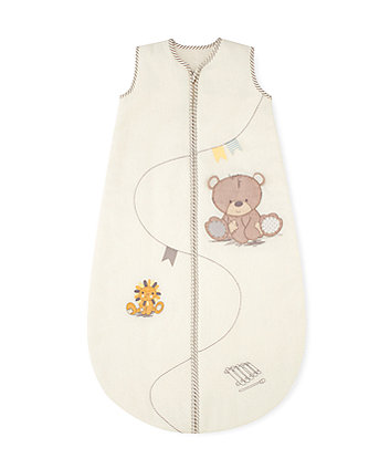 teddy's toy box snoozie sleep bag 6-18 months – 2.5 tog