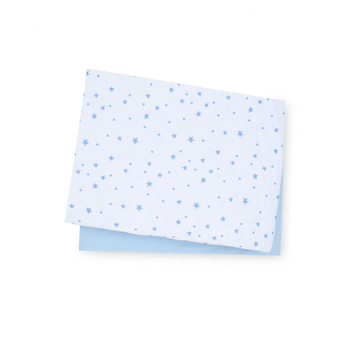 mothercare blue jersey cotton cot bed sheets - 2 pack