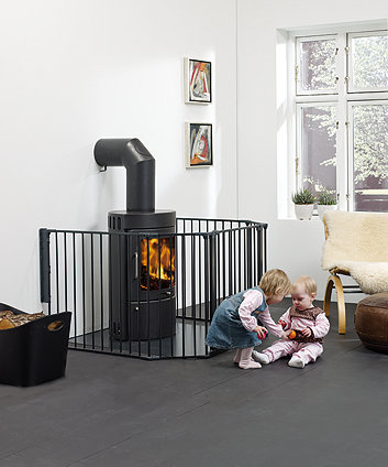 BabyDan configure xl gate - black