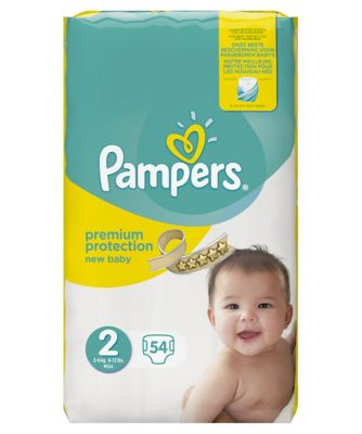 Pampers new baby size 2 essential pack - 54 nappies