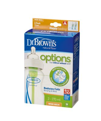 Dr Brown's options 270ml bottle - 2 pack